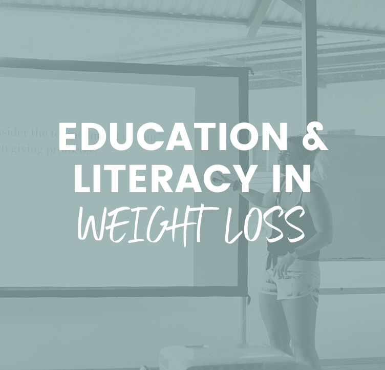 Education Literacy and Weight Loss Presentation