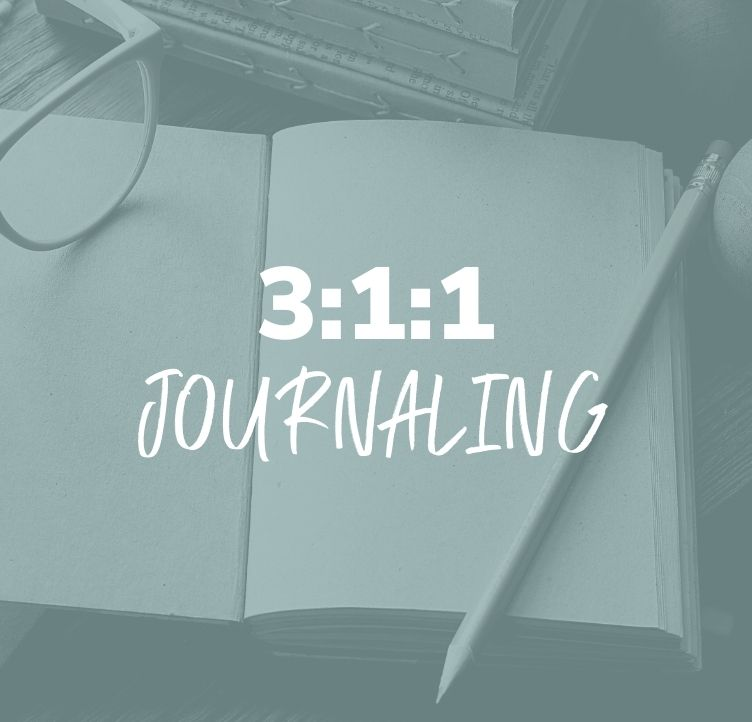 How to Journal with the 3:1:1 Strategy