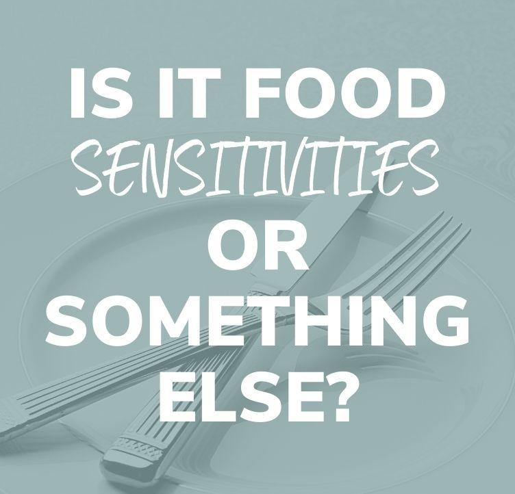 Is It Food Sensitivities or Something Else?